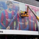 Lionel Messi images removed from Barcelona's stadium (Photos)