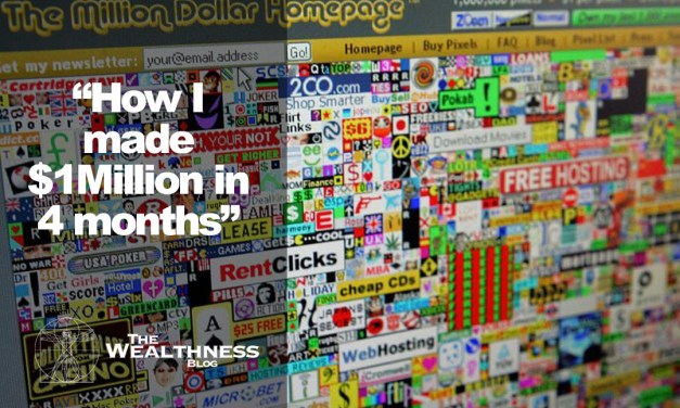 How I Made A Million Dollars in 4 Months   The Million Dollar Homepage