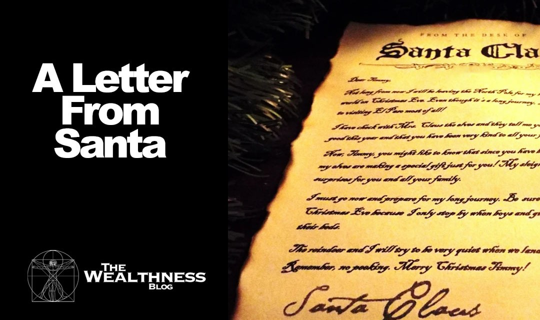 A Letter From Santa!