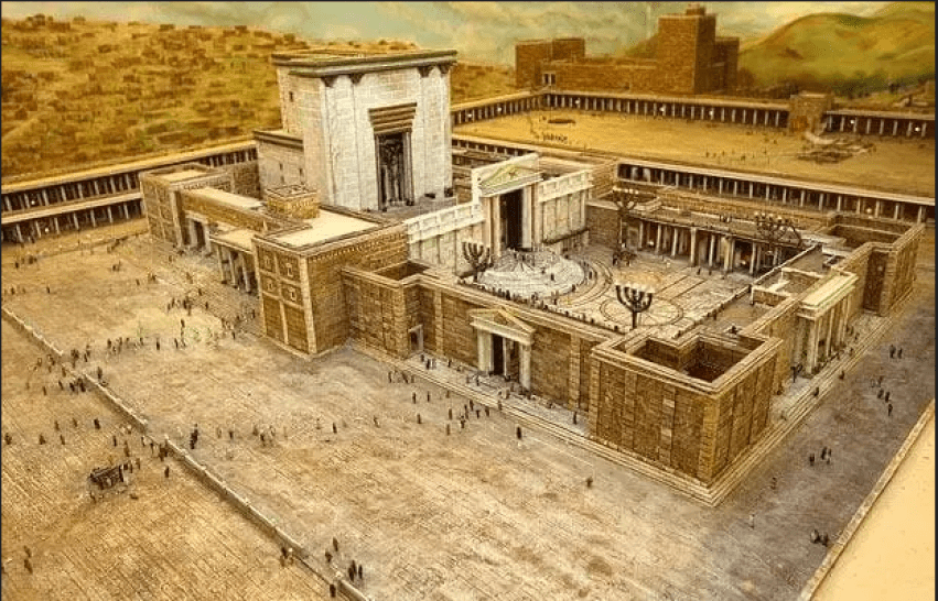 The Union of Speculative and Operative Masonry at the Temple of Solomon.