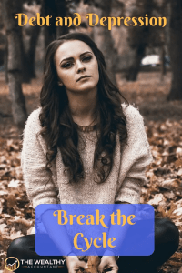 Break the cycle of debt and depression. Loneliness, sadness, depression and helplessness are natural responses to serious money problems. #money #moneyproblems #debt #depression #suicide #breakthecycle