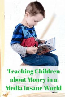 children and money | media | media diet | #mediadiet #teachingchildren #personalfinance