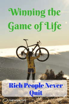 Winning the game of life takes perseverance. Winners don't quit. Each action is a step toward their goals. The winning attitude wins. #gameoflife #success #motivation