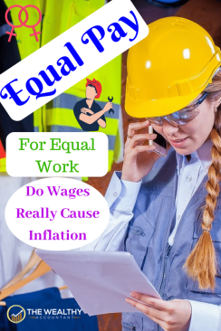 We've been looking for income inequality in the wrong place. The minimum wage can level the playing field, even for those earning much more. Equal pay for equal work. The minimum wage and inflation are a correlation. #inflation #wages #minimumwage #equalpay #equalrights #equalopportunity