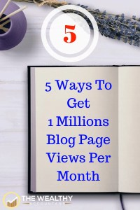 Create massive traffic for your blog with these 5 steps. A simple to follow program that will super-charge your traffic. How to increase blog traffic. Awesome traffic tips. #wealthyaccountant #blogtraffic #traffic #tips # pageviews #awesometips