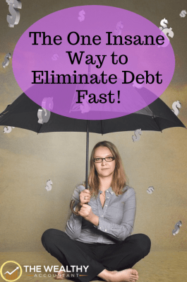 The one insane way to eliminate debt fast! Cut your insurance premiums, rent and interest rates with one simple step.