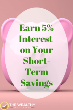 Earn high interest on your: short-term savings, emergency fund, maintenance fund, Christmas Club account. Don't settle for low bank accountant or money market fund rates.