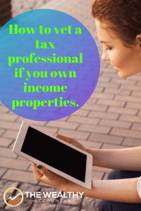 Find the best tax accountant possible by asking the right questions. As long as you are paying the bill your deserve the absolute top level of service. #CPA #EA #enrolledagent #taxpro #investments #realestate #incomeproperties
