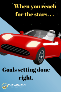 You might not get a star if you reach for one, but you sure will not come up with a fistful of dirt. Dream big! Create goals that motivate. Create goals that make your life better. Create goals you will use to better your life. #life #goals #stars #goalsetting