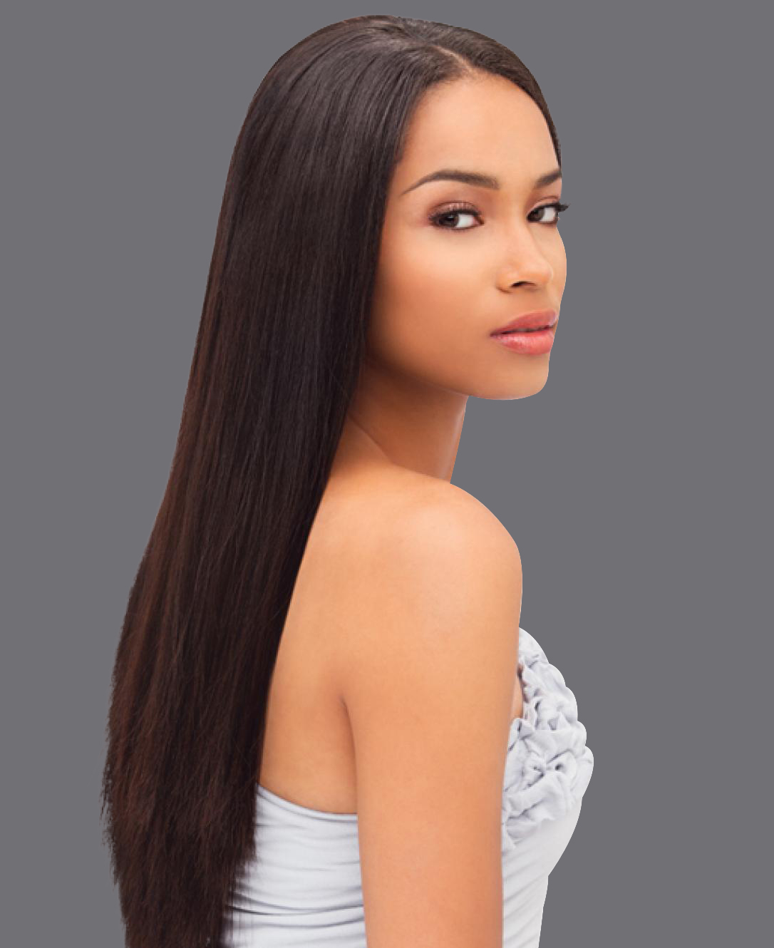Virgin Remy Sew In Weave Hair Extensions Natural Straight  Brazilian Malaysian Indian