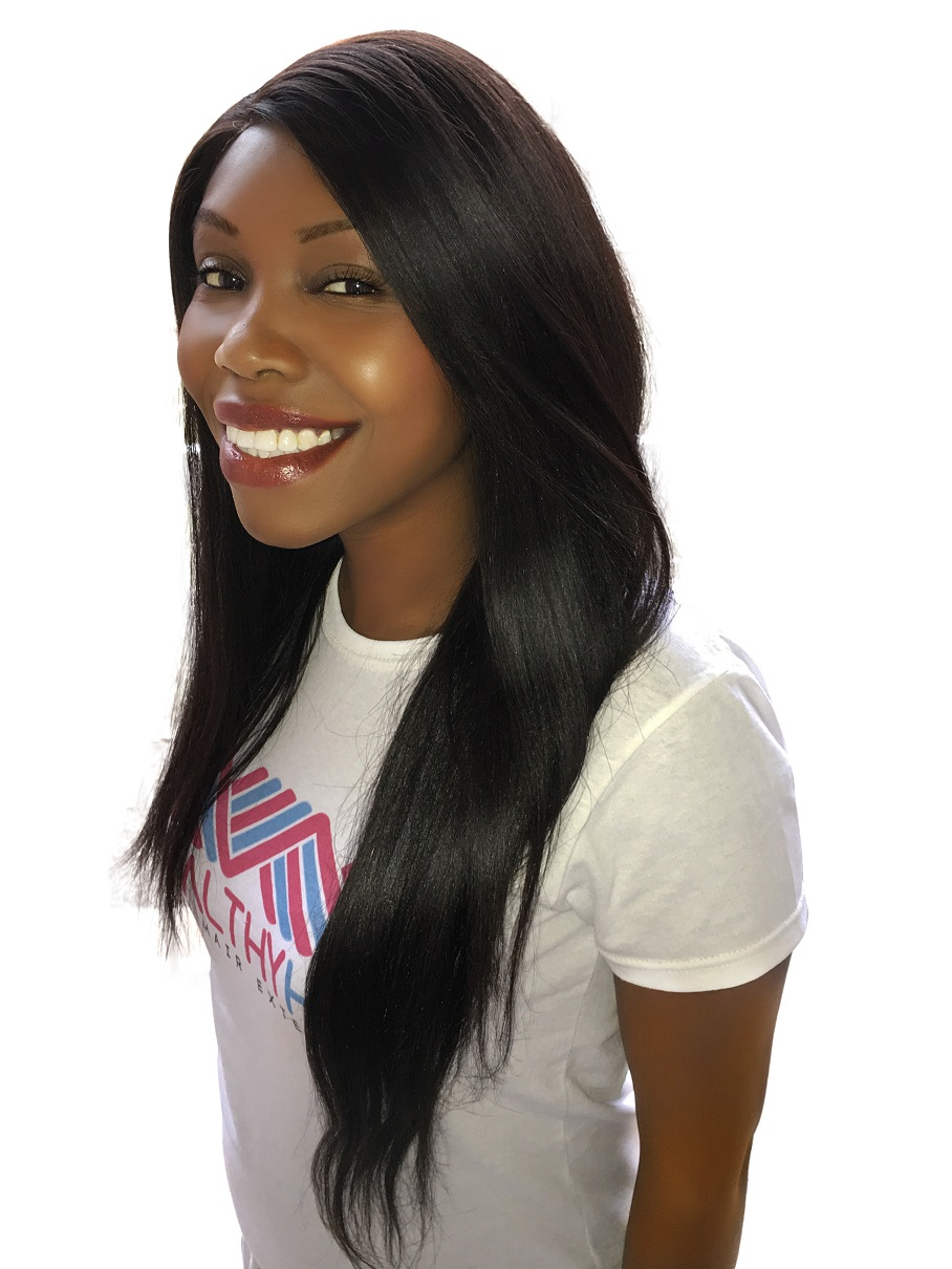 Virgin Remy Sew In Weave Hair Extensions Yaki Relaxed Straight  Brazilian Malaysian Indian