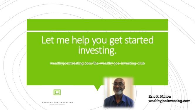 The Wealthy Joe Investing Club