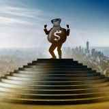 climbing the ranks to becoming wealthy and succeeding one step at a time