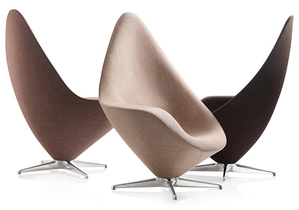 Plateau Lounge Chair  Red Dot Product Design Award 2011