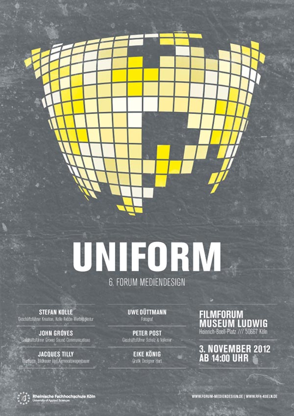 UNIFORM Poster Design By Leekdesign