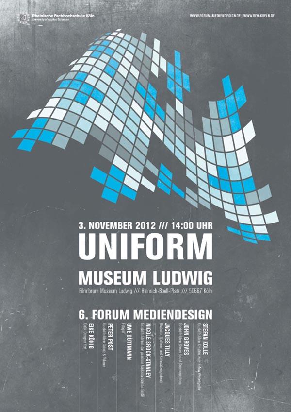 UNIFORM Poster Design by Leekdesign