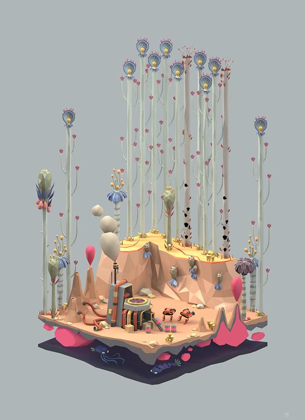 Atomic Age Interior Design