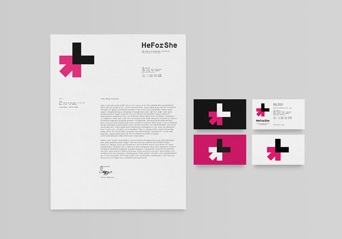 HeForShe Solidarity Movement Identity By DIA