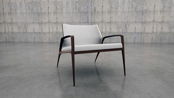 AC 214 Armchair by Angel Corso