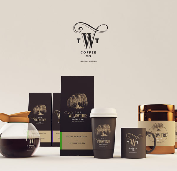 The Willow Tree Coffee CO  Branding by Isabela Rodrigues