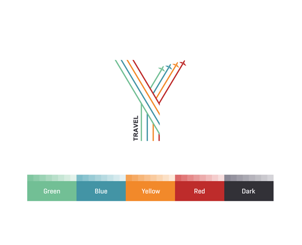 Y Travel Brand Identity Design