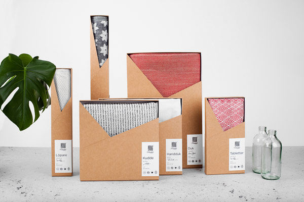 Klässbols Linen Factory – Brand And Package Design