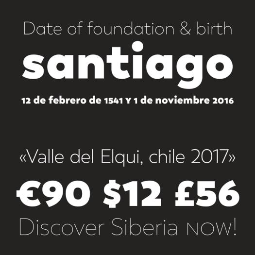Sans serif by Daniel Hernández, Paula Nazal Selaive.