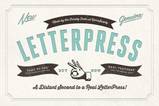 RetroSupply Co. LetterPress