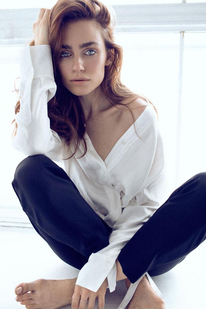 An intimate portrait of Elena.