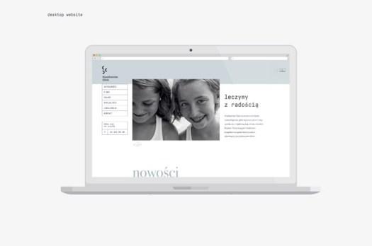 Desktop website.