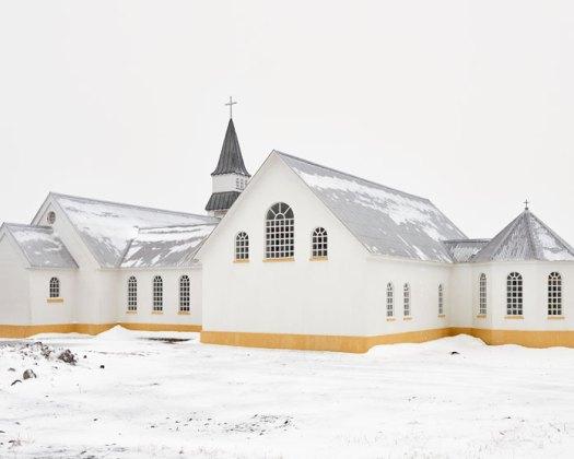 Balint Alovits Photography, A church in the snow.