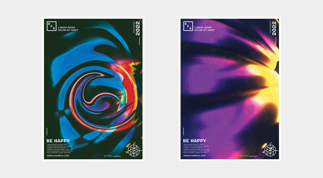 abstract poster templates for adobe