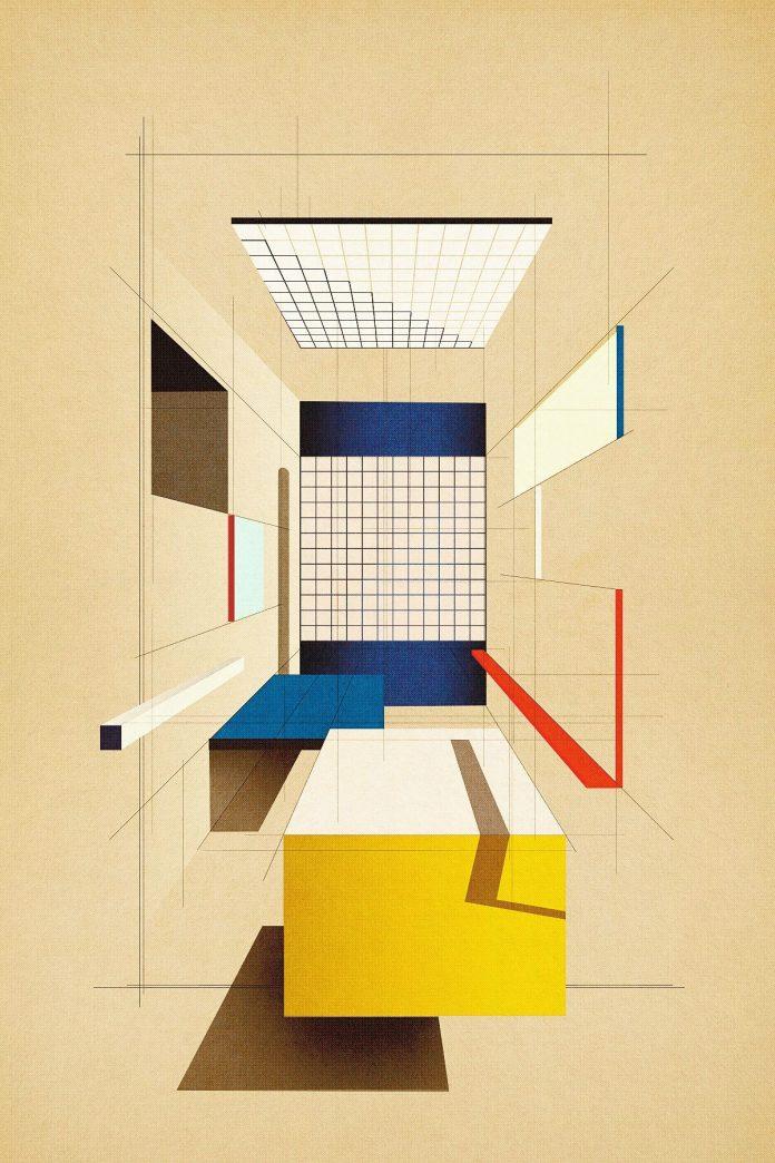 Composition No.13 - Poster Art by Studio Sander Patelski