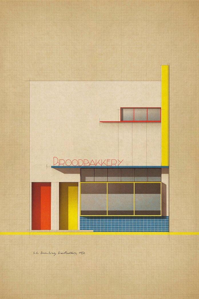 S.G. Barenbrug, Broodbakkery, 1932 - Poster Art by Studio Sander Patelski