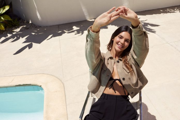 Kendall Jenner for ABOUT YOU