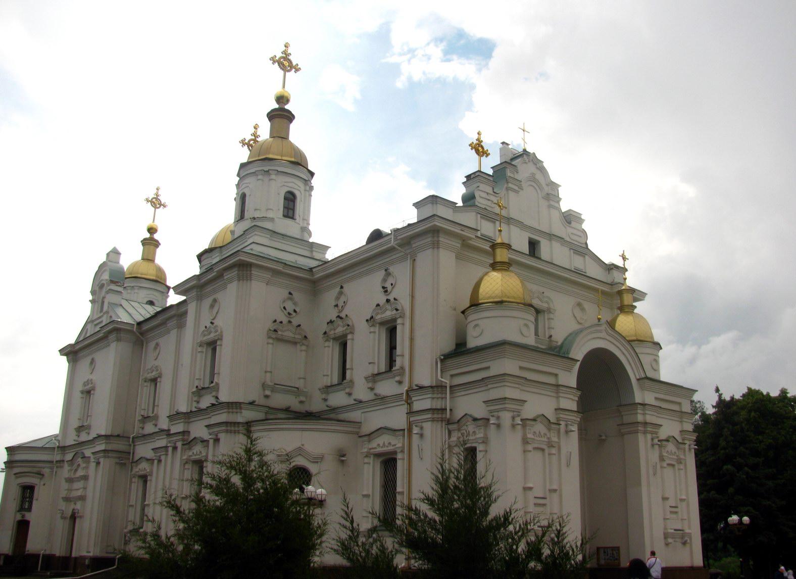Свято-Успенский собор Полтавы