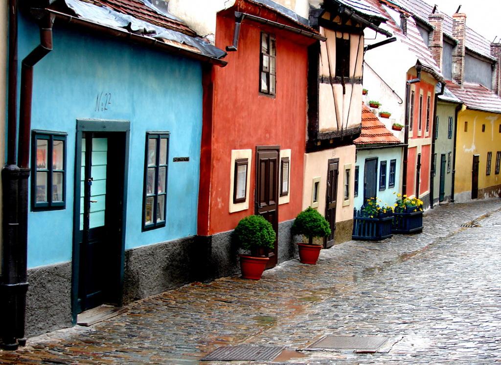 Золотая улочка Праги