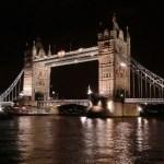 Тауэрский мост ночью