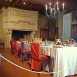 Средневековые интерьеры замка Ланже