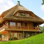 Дома из экологичных материалов