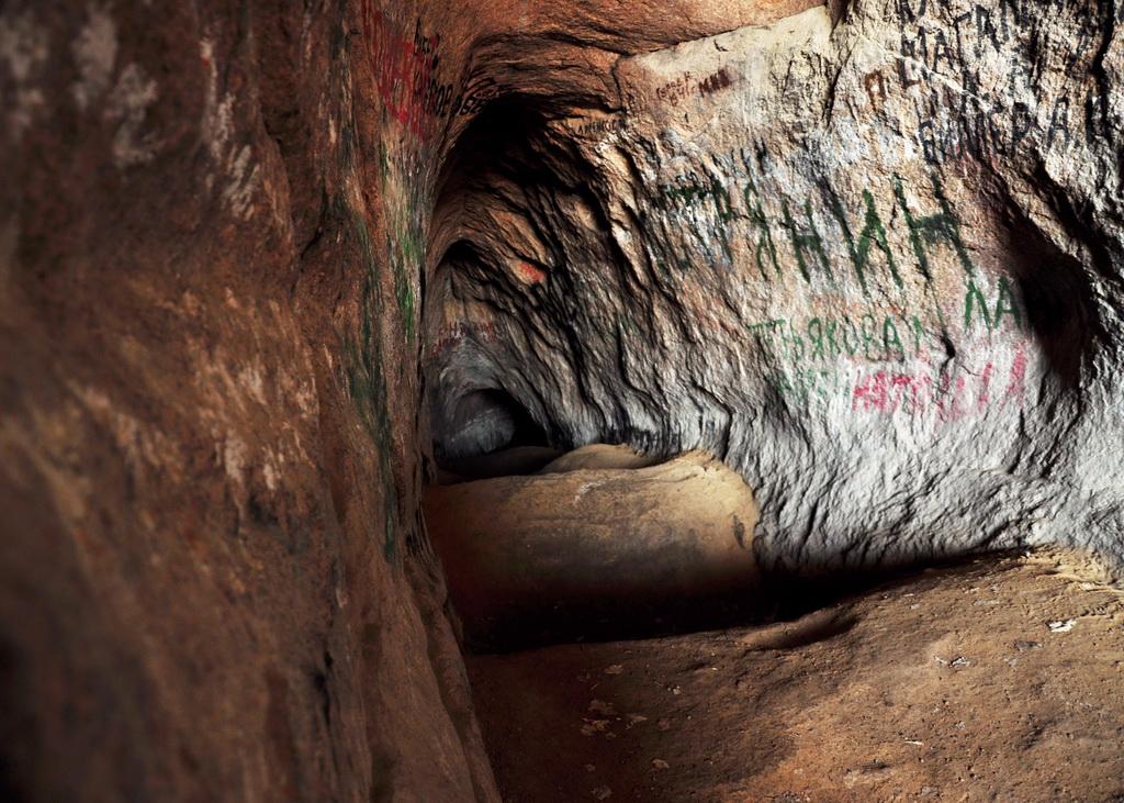 внутри пещеры Аулие