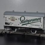 Модель вагона для перевозки пива