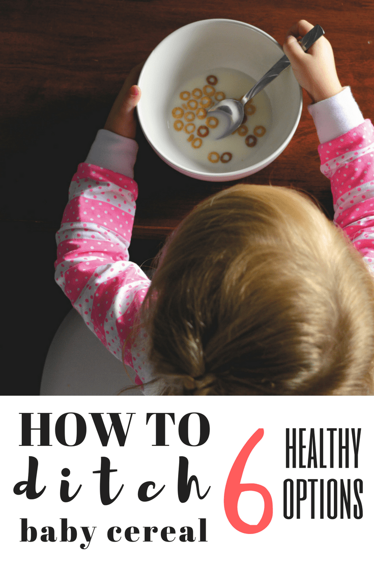 healthy alternatives to baby cereal