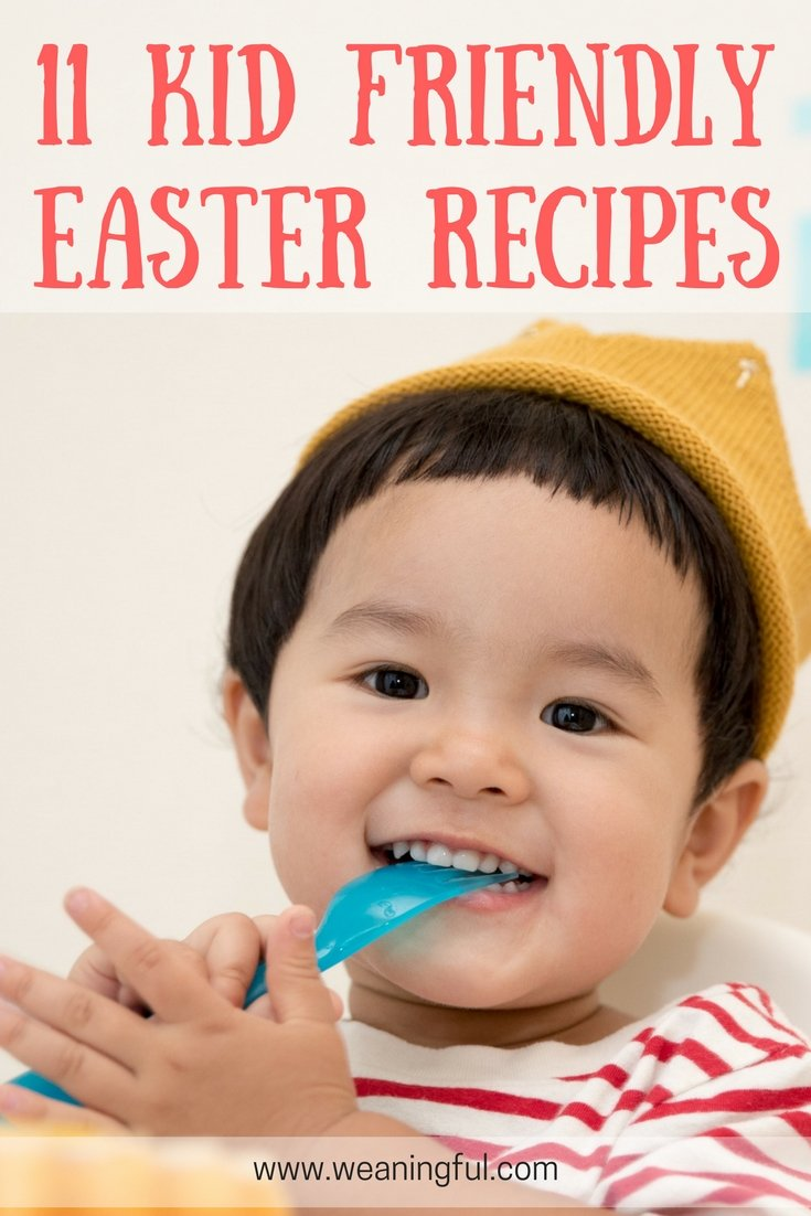 11 Easter recipes for kids - healthy, baby and toddler friendly