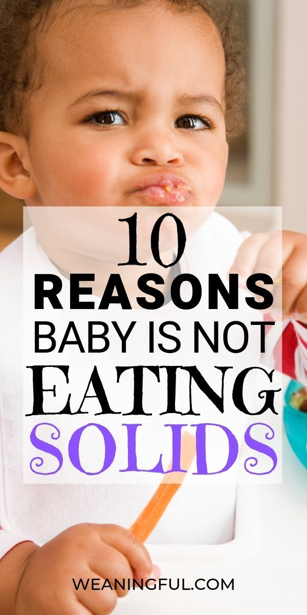 Started solids with your little one and he's not having any of it? First foods after 6 months can be a journey full of obstacles and worry. Find out why your baby isn't into first foods sometimes.