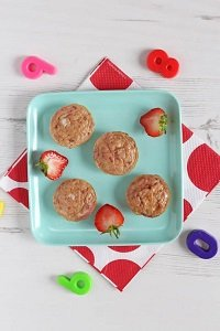 mini banana egg muffins baby led weaning first foods finger foods