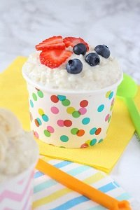 rice pudding sugar free baby led weaning breakfast ideas finger foods first foods