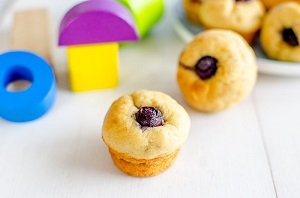 blueberry banana muffins for baby led weaning first foods finger foods