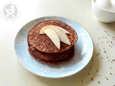 ragi baby led weaning pancakes recipe