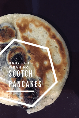 scotch pancakes baby led weaning pancakes recipe - great finger food and first food for introducing solids at 6 months+